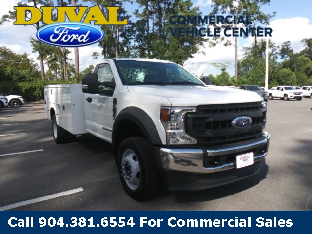 2020 Ford F-450 Regular Cab DRW 4x2, Knapheide Steel Service Body #LDA07843 - photo 3
