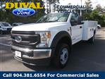 2020 Ford F-450 Regular Cab DRW 4x2, Knapheide Steel Service Body #LDA07843 - photo 1