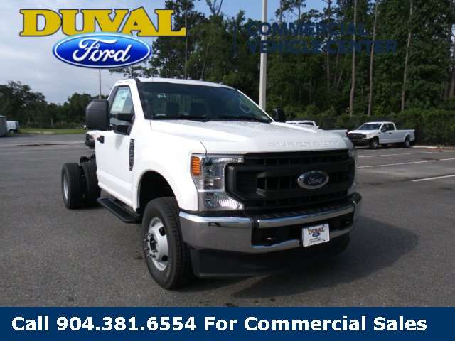2020 Ford F-350 Regular Cab DRW 4x4, Cab Chassis #LED41845 - photo 1