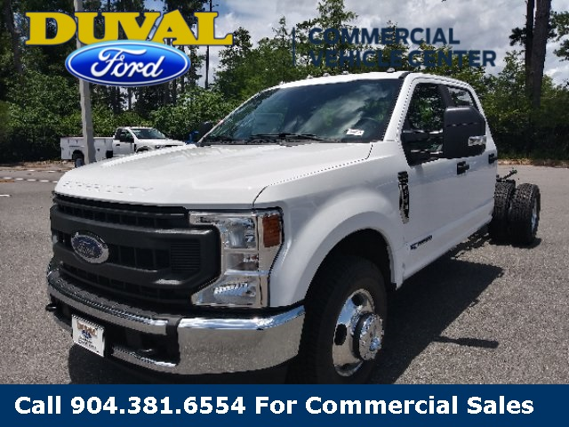 2020 Ford F-350 Crew Cab DRW 4x2, Cab Chassis #LED52639 - photo 4