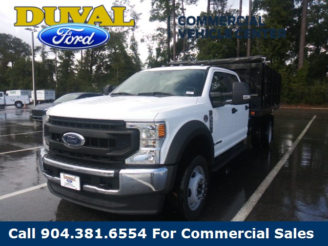 2020 Ford F-450 Crew Cab DRW 4x2, Knapheide Stake Bed #LEE38032 - photo 1