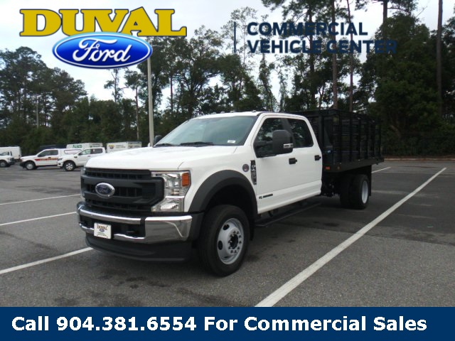 2020 Ford F-450 Crew Cab DRW 4x2, Knapheide Stake Bed #LEE38033 - photo 1