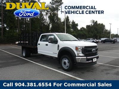2020 Ford F-450 Crew Cab DRW 4x2, Stake Bed #LEE38033 - photo 3