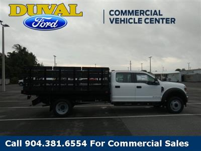 2020 Ford F-450 Crew Cab DRW 4x2, Stake Bed #LEE38033 - photo 8