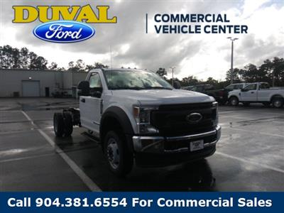 2020 Ford F-550 Regular Cab DRW 4x4, Cab Chassis #LEE89260 - photo 1