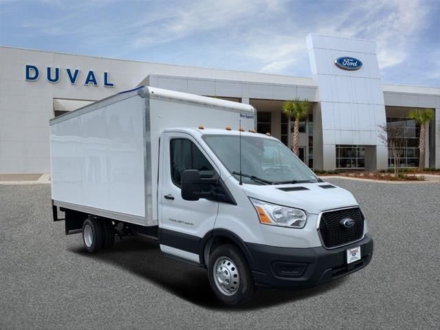 2020 Ford Transit 350 HD DRW RWD, Rockport Cutaway Van #LKA10371 - photo 1