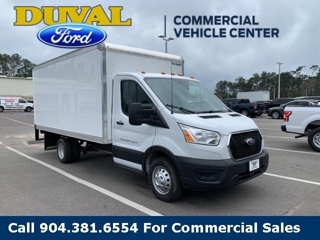 2020 Ford Transit 350 HD DRW RWD, Rockport Cutaway Van #LKA10371 - photo 1