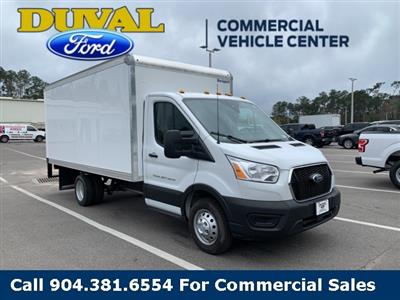2020 Ford Transit 350 HD DRW RWD, Rockport Cutaway Van #LKA10371 - photo 4