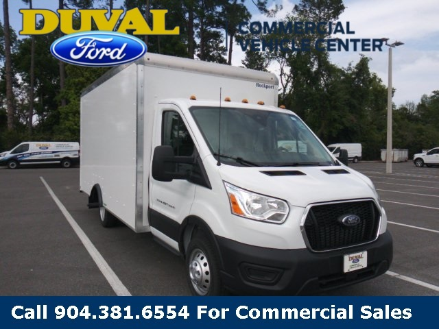 2020 Ford Transit 350 HD DRW RWD, Rockport Cutaway Van #LKA10373 - photo 1