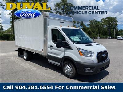 2020 Ford Transit 350 HD AWD, Knapheide KCA Cutaway Van #LKA46289 - photo 1
