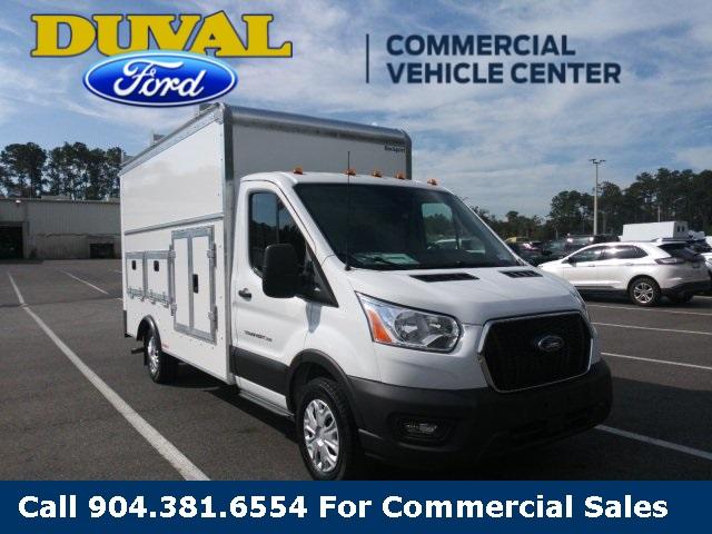 2020 Ford Transit 350 RWD, Rockport Service Utility Van #LKB18562 - photo 1