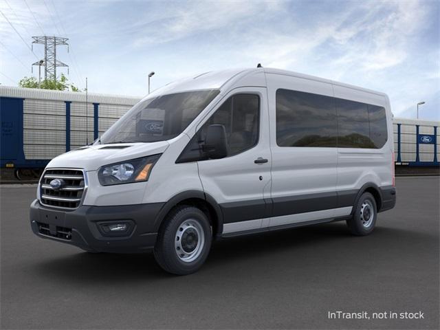 2020 Ford Transit 350 Med Roof RWD, Passenger Wagon #LKB42417 - photo 1
