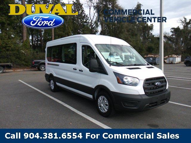 2020 Ford Transit 350 Med Roof 4x2, Passenger Wagon #LKB70852 - photo 1