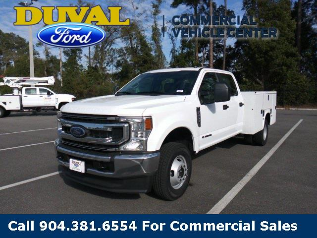 2021 Ford F-350 Crew Cab DRW 4x4, Knapheide Service Body #MEC75180 - photo 1