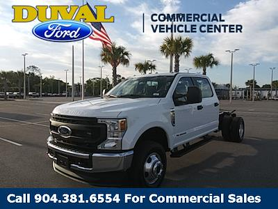 2021 Ford F-350 Crew Cab DRW 4x4, Cab Chassis #MED58288 - photo 1