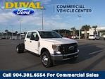 2021 Ford F-350 Crew Cab DRW 4x4, Cab Chassis #MED58288 - photo 3