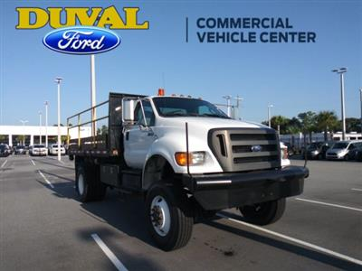 2011 Ford F-750 Regular Cab DRW 4x4, Platform Body #PBV085275 - photo 1