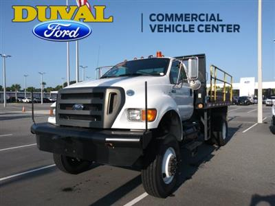 2011 Ford F-750 Regular Cab DRW 4x4, Platform Body #PBV085275 - photo 4