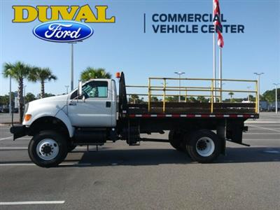 2011 Ford F-750 Regular Cab DRW 4x4, Platform Body #PBV085275 - photo 5