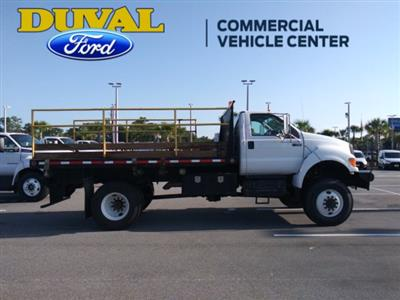 2011 Ford F-750 Regular Cab DRW 4x4, Platform Body #PBV085275 - photo 8