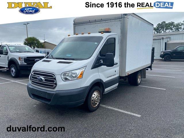 2015 Ford Transit 350 HD Low Roof DRW, Cutaway #PFKA86153 - photo 1