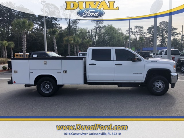 2016 Sierra 3500 Crew Cab DRW 4x4, Service Body #PGF285304 - photo 4