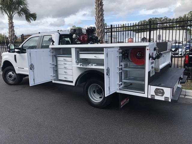 2018 F-350 Super Cab DRW 4x4,  Reading Service Body #STKC95958 - photo 2