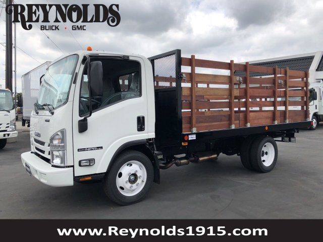2018 NPR HD Regular Cab, Complete Truck Bodies Stake Bed #G180720   Photo  ...