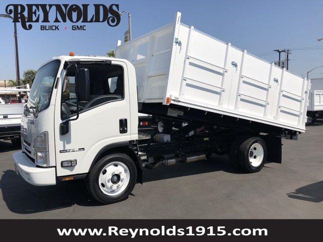 2018 NPR HD Regular Cab, Martinu0027s Quality Truck Body Landscape Dump  #G181157 ...