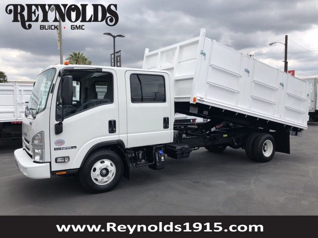 2019 NPR-HD Crew Cab,  Martin's Quality Truck Body Landscape Dump #G190000 - photo 1