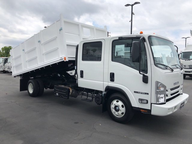 2019 NPR-HD Crew Cab,  Martin's Quality Truck Body Landscape Dump #G190000 - photo 4
