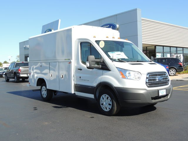 2017 Transit 250 Low Roof, Reading Service Utility Van #HT6062 - photo 4