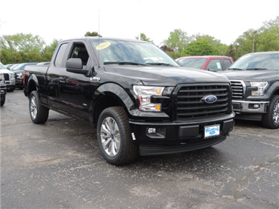 2017 F-150 Super Cab 4x4 Pickup #HT6664 - photo 4