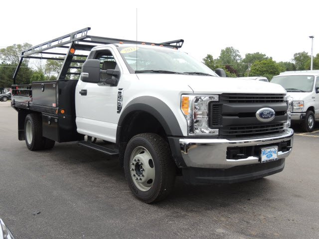 2017 F-450 Regular Cab DRW 4x4, Freedom Contractor Body #HT6711 - photo 4