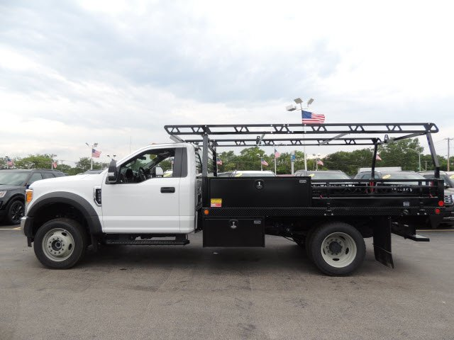 2017 F-450 Regular Cab DRW 4x4, Freedom Contractor Body #HT6711 - photo 8