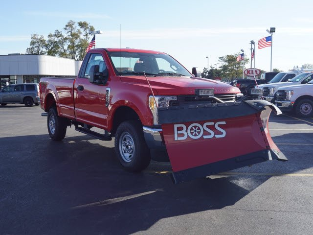 2017 F-250 Regular Cab 4x4,  BOSS Pickup #HT6753 - photo 4