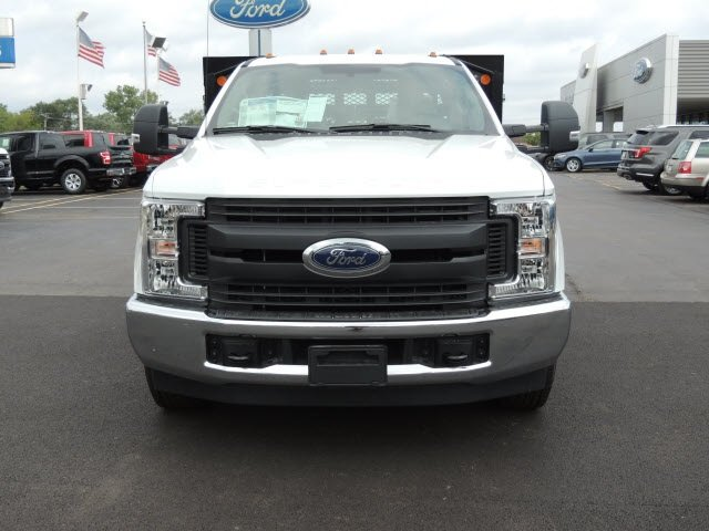 2018 F-350 Regular Cab DRW 4x2,  Monroe Stake Bed #IT5701 - photo 3