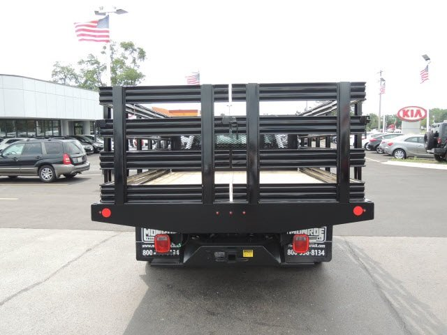 2018 F-350 Regular Cab DRW 4x2,  Monroe Stake Bed #IT5701 - photo 7