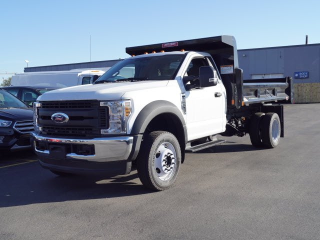 2018 F-450 Regular Cab DRW 4x4,  Rugby Eliminator LP Steel Dump Body #IT5706 - photo 1
