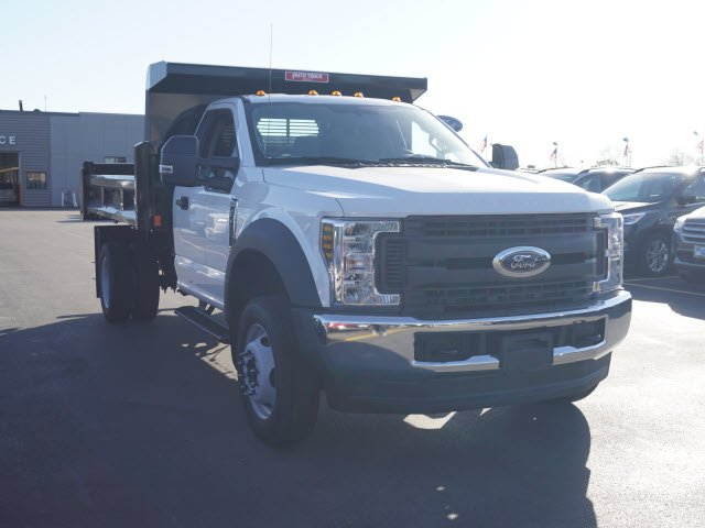 2018 F-450 Regular Cab DRW 4x4,  Rugby Eliminator LP Steel Dump Body #IT5706 - photo 4