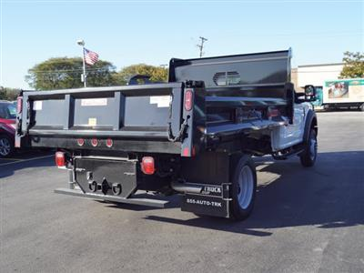 2018 F-450 Regular Cab DRW 4x4,  Rugby Eliminator LP Steel Dump Body #IT5706 - photo 5