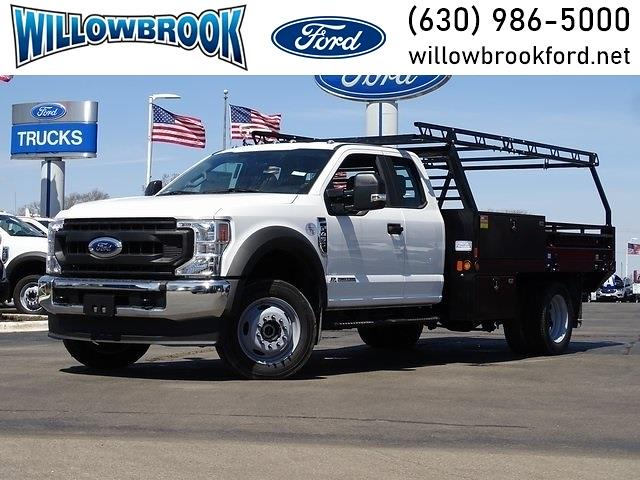 2020 Ford F-450 Super Cab DRW 4x4, Freedom Contractor Body #LT5674 - photo 1
