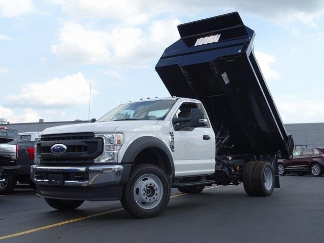 2020 Ford F-450 Regular Cab DRW 4x4, Knapheide Dump Body #LT5707 - photo 1