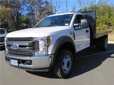 2017 F-450 Regular Cab DRW 4x2,  Platform Body #DA03736 - photo 1