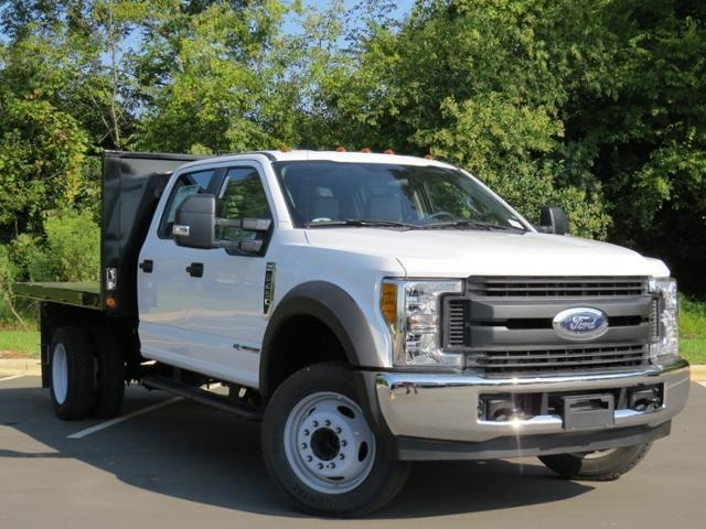 2017 F-450 Crew Cab DRW 4x2,  Freedom Farmhand Platform Body #EC86827 - photo 3