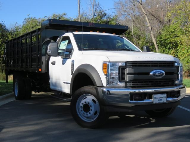 2017 F-550 Regular Cab DRW, Stake Bed #EE66186 - photo 3