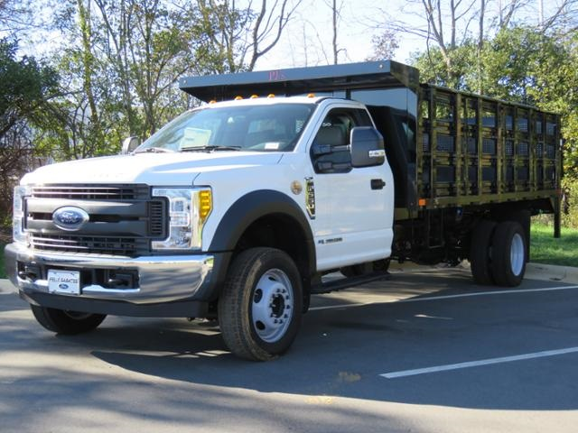 2017 F-550 Regular Cab DRW, Stake Bed #EE66186 - photo 5