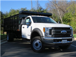 2017 F-550 Regular Cab DRW, Stake Bed #EE66186 - photo 1