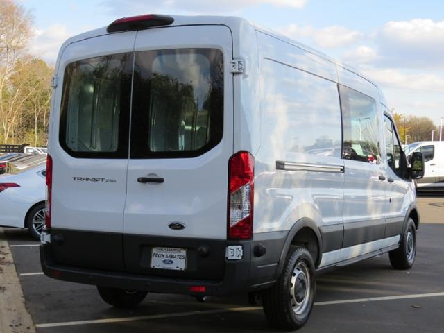 2018 Transit 250 Med Roof 4x2,  Empty Cargo Van #KA12870 - photo 4