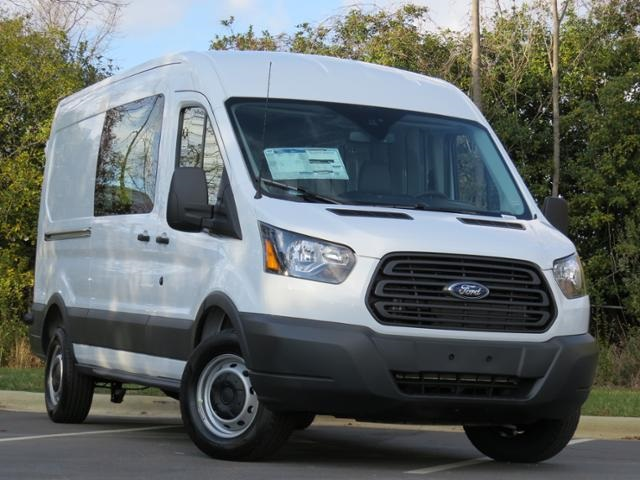 2018 Transit 250 Med Roof 4x2,  Empty Cargo Van #KA12870 - photo 3